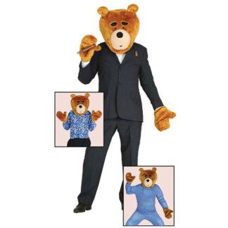 Costume Orso Ted tg. unica adulto