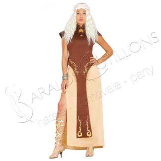 Costume da Regina medioevale tk268