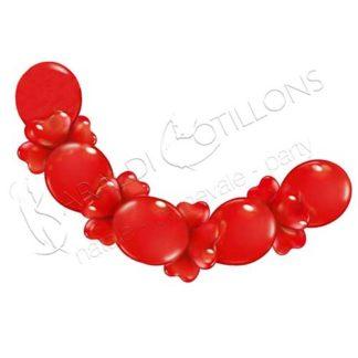 Ghirlanda di palloncini LOVE vk190x