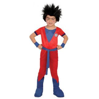 Costume stile Goku bimbo 7/9 anni