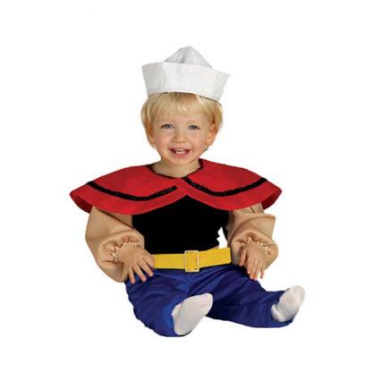 Costume Braccio di Ferro Baby 12-24 mesi