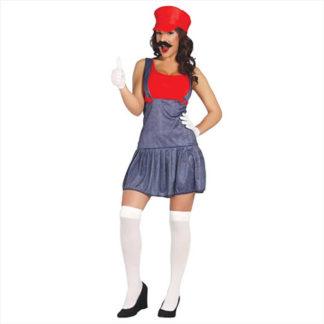 Costume Super Mario Donna Tg. 42/44