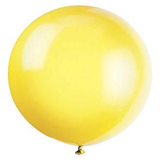 Pallone gigante giallo