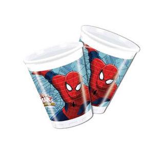 Bicchieri Spiderman conf. 8 pezzi