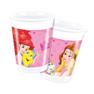 Bicchieri Principesse conf. 8 pezzi