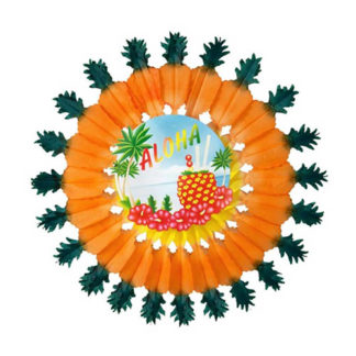 Rosone Aloha con Ananas cm 60
