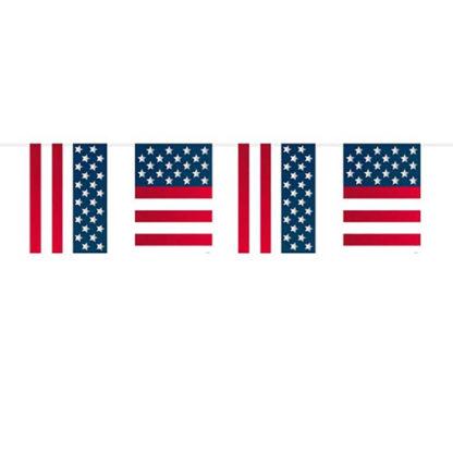 Bandierine USA in pvc mt 10