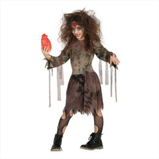 Costume Zombie ragazza 10 - 12 anni