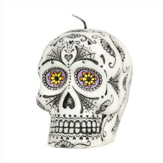 Candela teschio Dia de Los Muertos