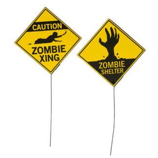 Cartello pericolo Zombie