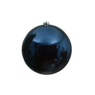 Palla di Natale mm 140 Blu Notte