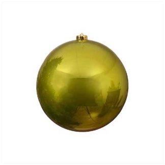 Palla di Natale mm 140 Verde Oliva