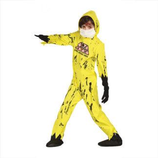 Costume Zombie nucleare 10 - 12 anni