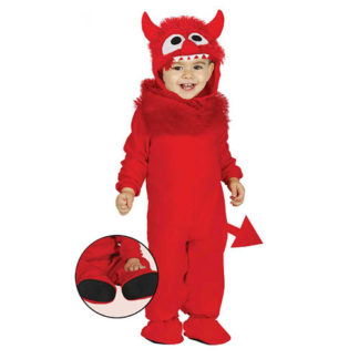 Costume diavolo baby 12 - 24 mesi