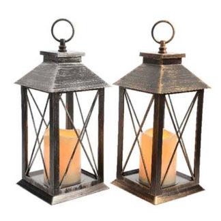Lanterna con Led e Timer cm 34