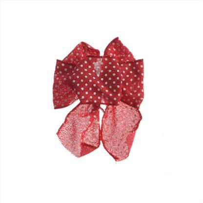 Fiocco di Natale Rosso cm 15