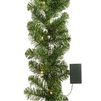Ghirlanda pino verde Imperial con luci cm 180