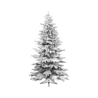 Albero di Natale Alaskan innevato cm. 210