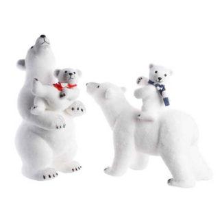 Orso Polare con Cucciolo mod. assortiti