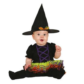 Costume Streghetta Multicolor Baby 12 - 24 mesi