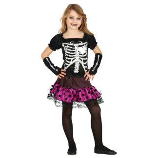 Costume scheletro ragazza 10 - 12 anni