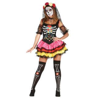 Costume Dia de Los Muertos
