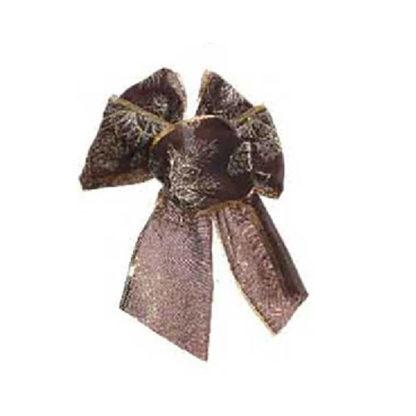 Fiocco di Natale Cioccolato cm 15