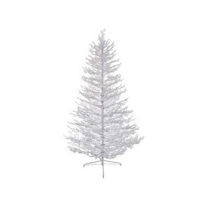Albero di Natale Bianco Innevato cm 210