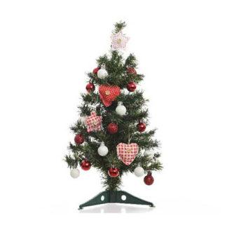 Alberino di Natale con decoro cm 50
