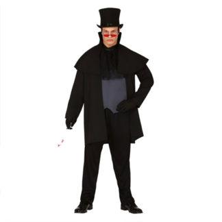 Costume stile Jack lo Squartatore tg. 52/54