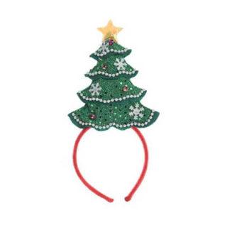 Cerchietto Albero di Natale con Led