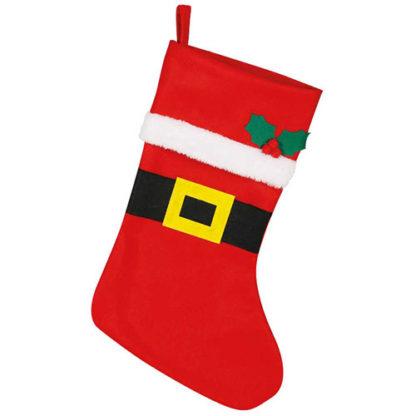 Calza di Babbo Natale cm. 44