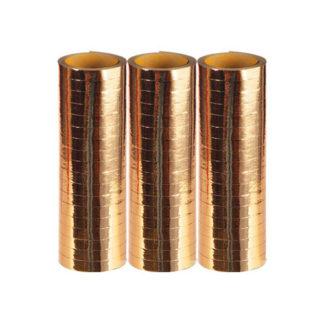 Stelle filanti metallizzate Oro conf 3 pezzi