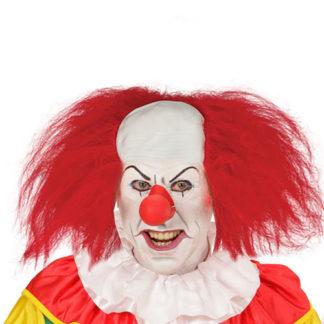 Parrucca Clown con calotta