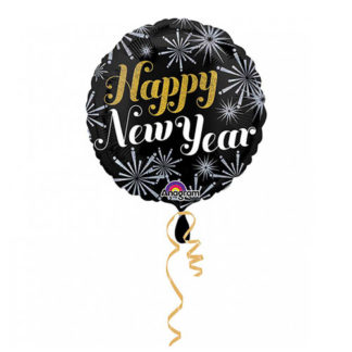 Pallone foil HAPPY NEW YEAR cm. 42