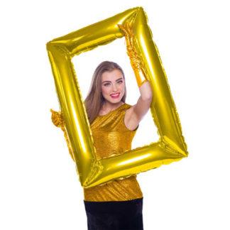 Pallone foil cornice per foto