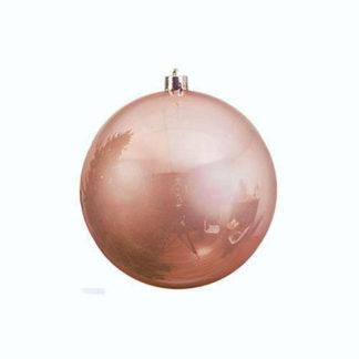 Palla di Natale mm 140 Pink Champagne