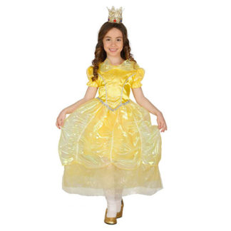 Costume Principessa stile Bella e La Bestia 7/9 anni