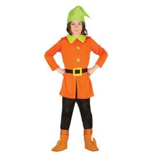 Costume da Gnomo Bimbo 5 - 6 anni