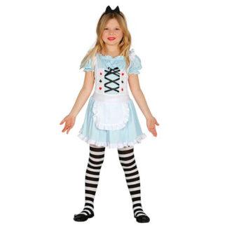 Costume stile Alice nel paese delle meraviglie 7 - 9 anni