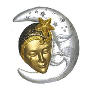 Maschera da decoro maxi Luna