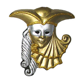 Maschera da decoro maxi Uomo Veneziano
