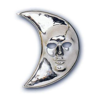 Maschera maxi Luna argento