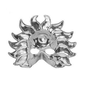 Maschera maxi Sole argento