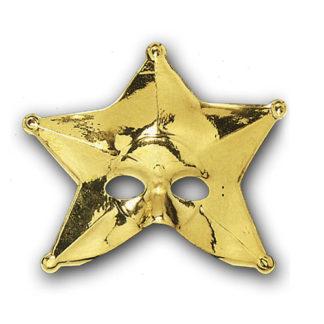 Maschera maxi Stella oro
