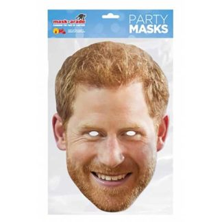 MASCHERA PRINCIPE HARRY IN CARTONCINO