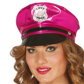 Cappello Police rosa