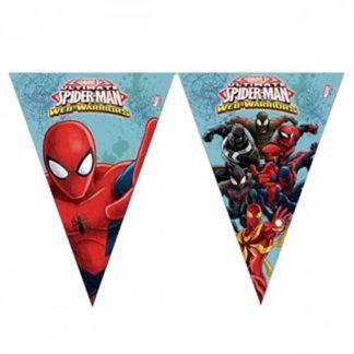 Bandierine Spiderman mt. 2,30