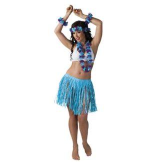Set Hawaiano 5 pezzi Colore Azzurro