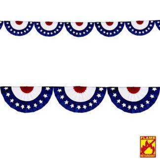 Festone ventaglio U.S.A. mt 2,75